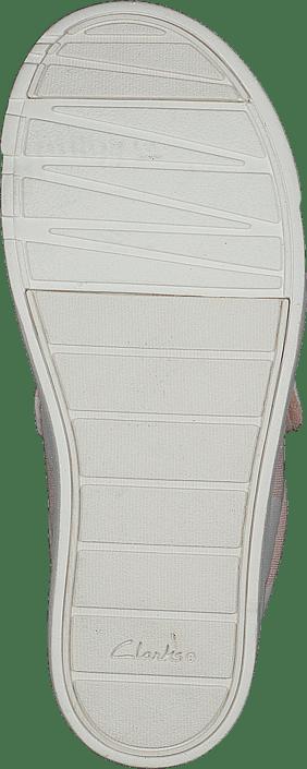 25bcf986868f2 Acheter Clarks City Flare Lo T Pink Combi gris Chaussures Online ...