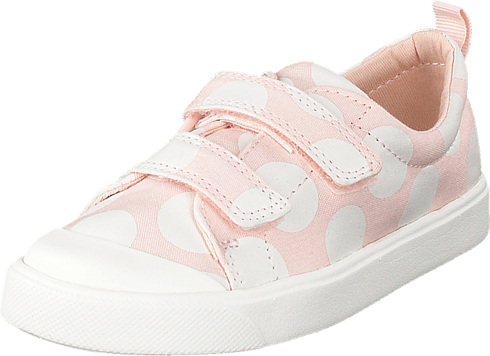 Clarks - City Flare Lo T Pink Combi