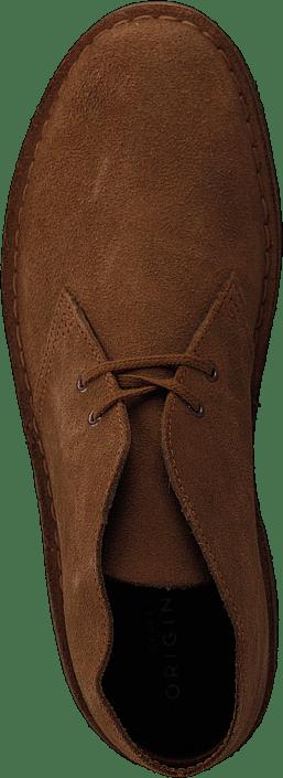 Hommes Chaussures Acheter Clarks Desert Boot Cola Suede Chaussures Online