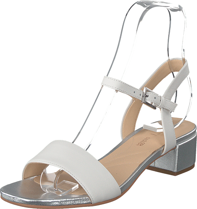 Clarks - Orabella Iris White Combi Leather