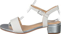 Orabella Iris White Combi Leather