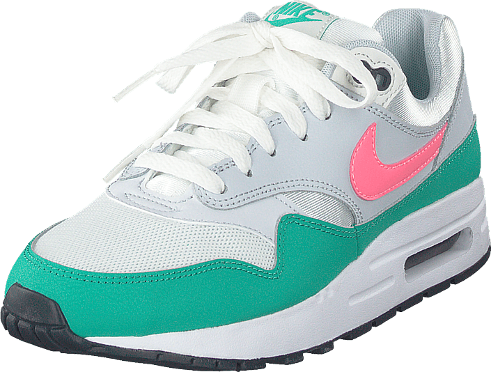 Nike - Air Max 1 (gs) Summit White/sunset Pulse