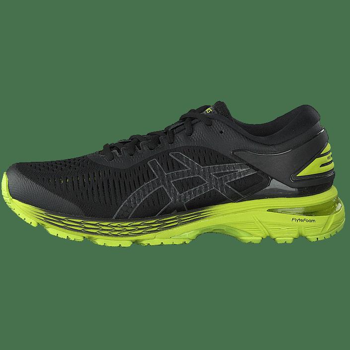 e7ff59f89204 Buy Asics Gel-kayano 25 Black/neo Lime black Shoes Online | FOOTWAY.co.uk