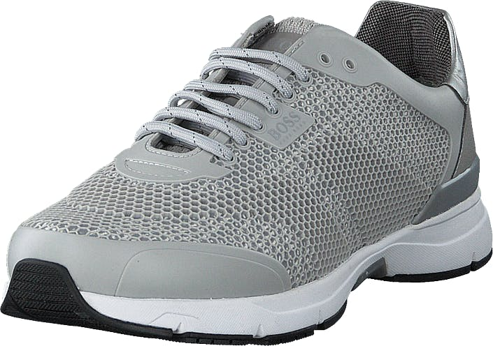 Boss Green - Hugo Boss Velocity_runn_rb Light/pastel Grey, Skor, Sneakers & Sportskor, Sneakers, Grå, Herr, 45