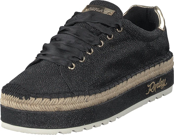 Replay Trevie Black, Skor, Sneakers & Sportskor, Låga sneakers, Svart, Dam, 40