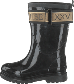 3/4 Rubber Boots Black
