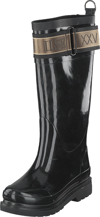 Ilse Jacobsen - Long Rubber Boots Black