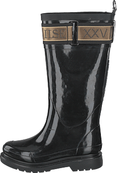 Long Rubber Boots Black