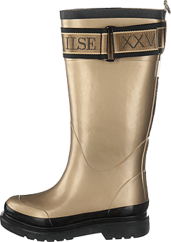 Long Rubber Boots Platin