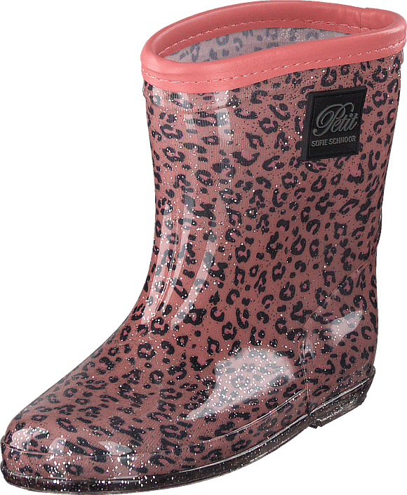 Petit by Sofie Schnoor - Rubber Boot Baby Leopard - Pink