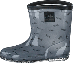 Rubber Boot Baby Nyc All Over Print - Blue