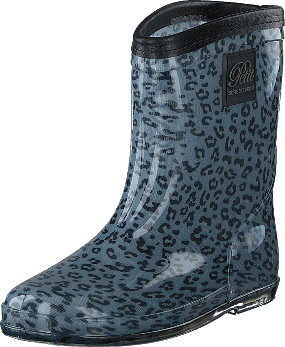 Petit by Sofie Schnoor - Rubber Boot Baby Leopard - Blue