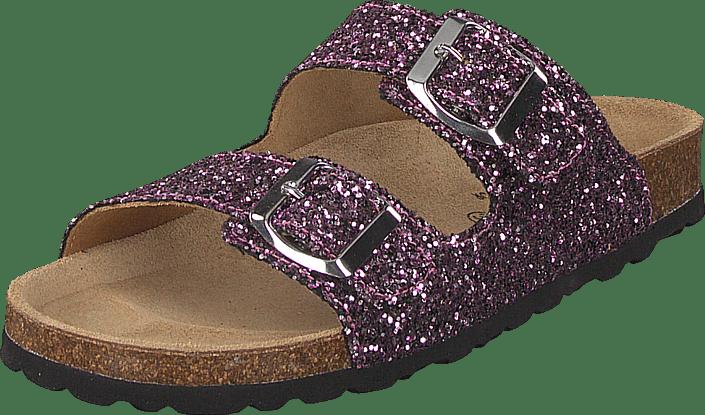 Petit by Sofie Schnoor - Sandal Glitter, 2 Straps Purple