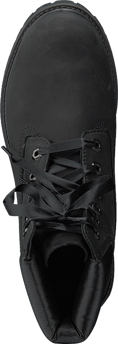 Timberland - 6in Premium Wp Boot L/satin Black Waterbuck