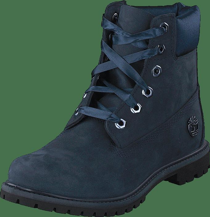 Timberland - 6 Inch Premium WP Boot L/satin Black Iris Waterbuck