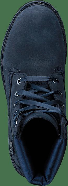 Timberland - 6in Premium Wp Boot L/satin Black Iris Waterbuck