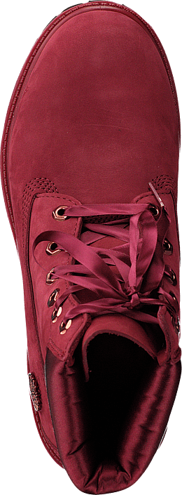 6 Inch Premium WP Boot L/satin Pomegranate Waterbuck