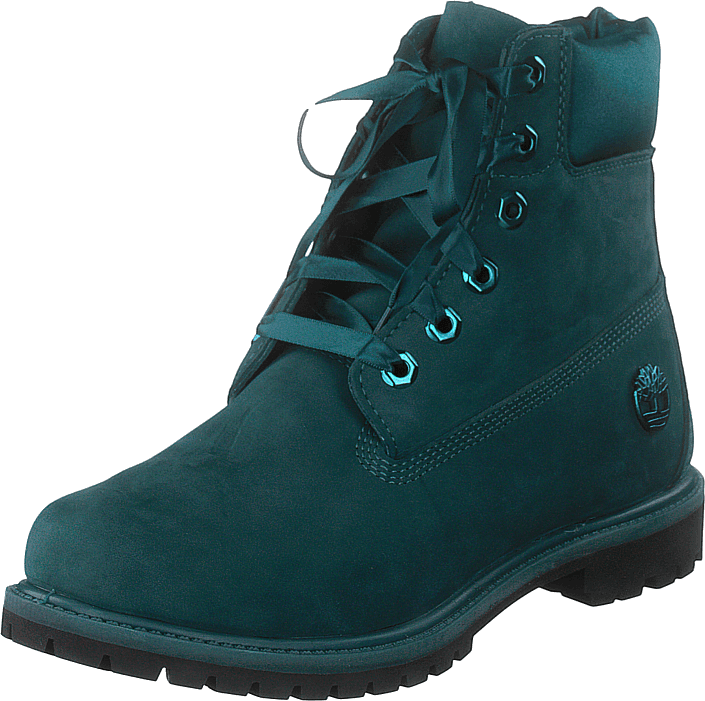 Timberland - 6in Premium Wp Boot L/satin Deep Teal Waterbuck
