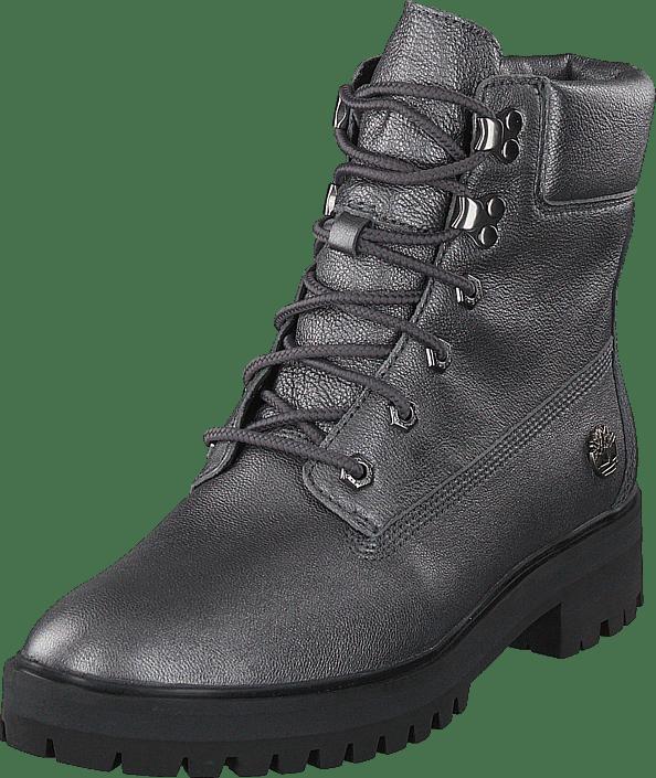Square 6inch Grey Boots Dark London Akita 8nPkO0wX