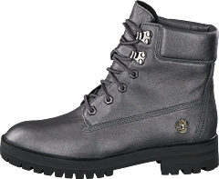 London Square 6inch Boots Dark Grey Akita