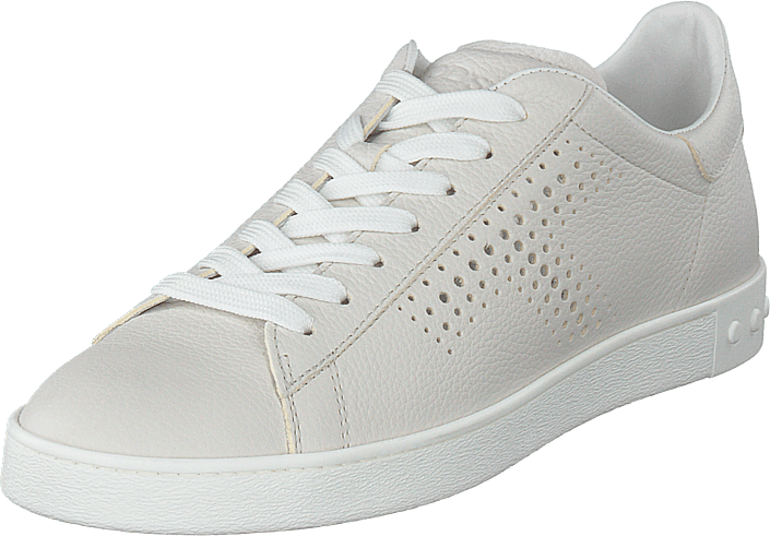 Tod's - Leather Sneakers Bianco Calce