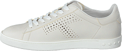 Leather Sneakers Bianco Calce