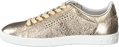 Leather Sneakers Oro