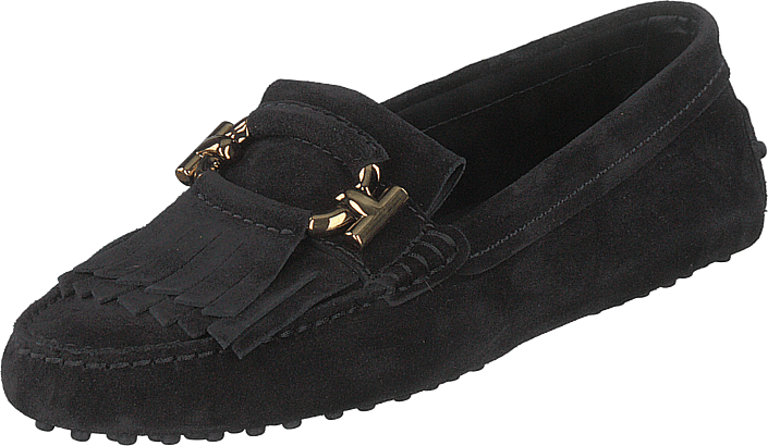 Tod's - Gommino T Ring Loafer Nero