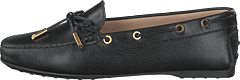 Gommino Moccasins Leather Nero