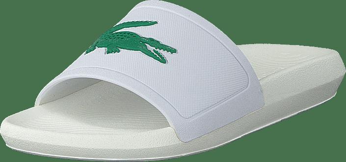 Lacoste - Croco Slide 119 1 Cma Wht/grn