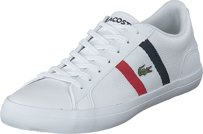 Lacoste - Lerond 119 3 Cma Wht/red/nvy