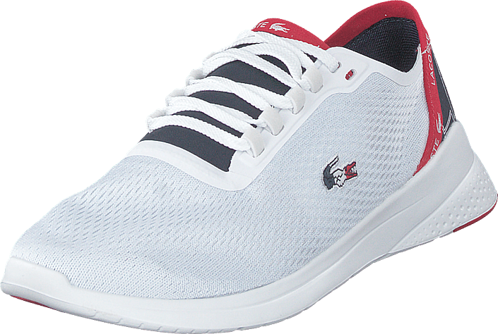 3fbc982ab0a Buy Lacoste Lt Fit 119 5 Sma Wht/nvy/red white Shoes Online ...