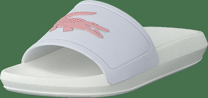 Croco Slide 119 3 Cfa Wht/lt Pnk