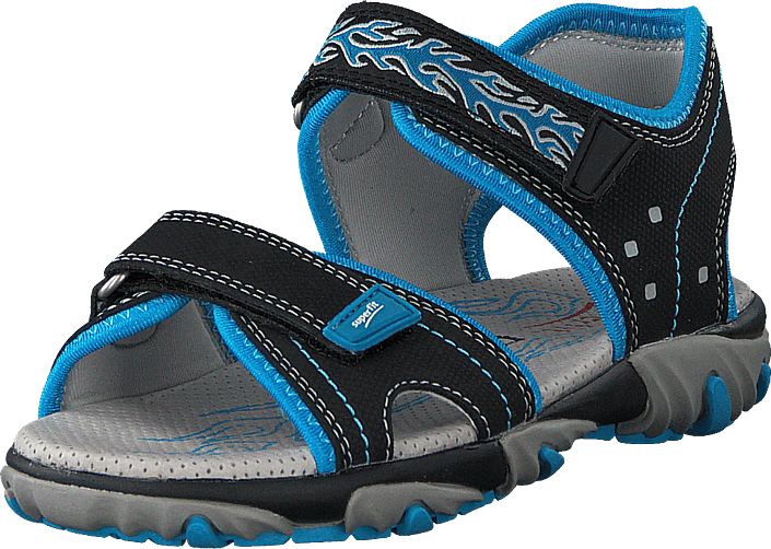 Superfit - Mike 2 Black/blue