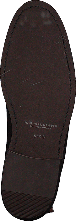 Kjøp Rm Williams Adelaide Rubber Sole (g Fit) Dark Tan Sko Online