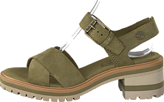 Violet Marsh Cross Band Olive Nubuck
