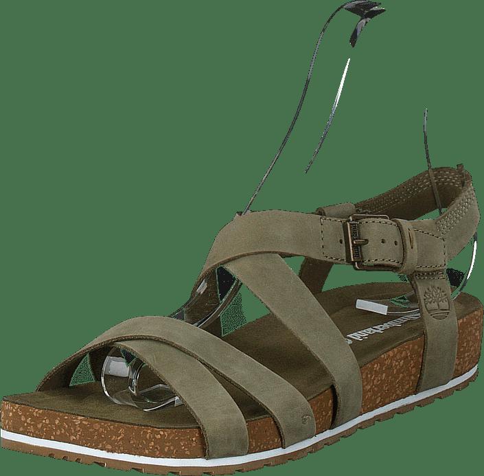 Timberland - Malibu Waves Ankle Olive Nubuck
