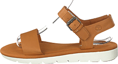 Lottie Lou 1-band Sandal Md Beige Full Grain
