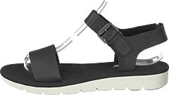 Lottie Lou 1-band Sandal Black Full Grain