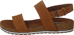 Malibu-waves 2-band Sandal Rust