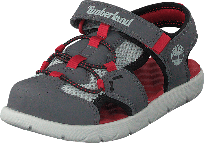 Timberland - Perkins Row Fisherman Dark Grey/red