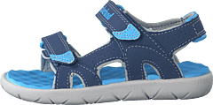 Perkins Row 2-strap Blue