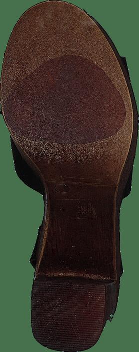 9e95b1ba6e8 Buy Steve Madden Liliana Black Leather grey Shoes Online
