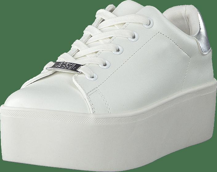 Asistente Por favor ropa  Köp Steve Madden Palmer White Skor Online | FOOTWAY.se
