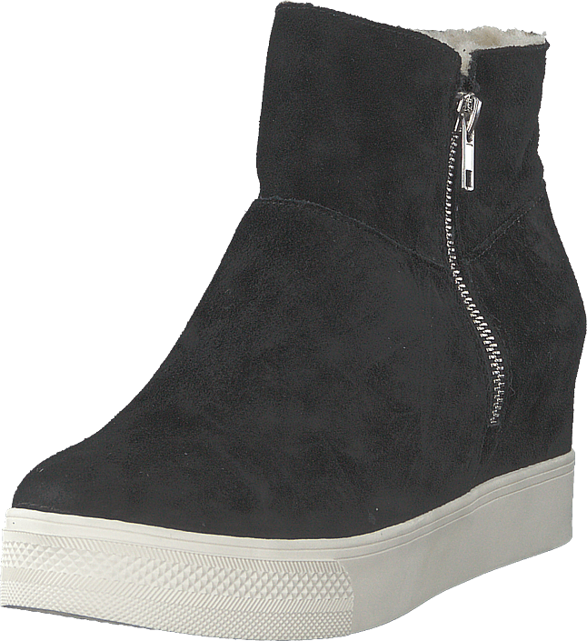 Steve Madden - Wanda Wedge Sneaker Black Suede