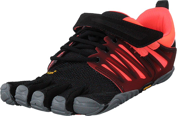 Vibram Fivefingers - V-train Black/coral/grey