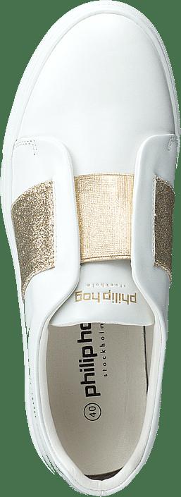 eea41fb7 Køb Philip Hog Elastic White Gold hvide Sko Online | FOOTWAY.dk