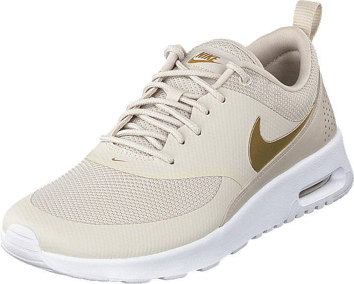 47c8c0c80 Buy Nike Wmns Air Max Thea Cream white metallic Gold white Shoes ...