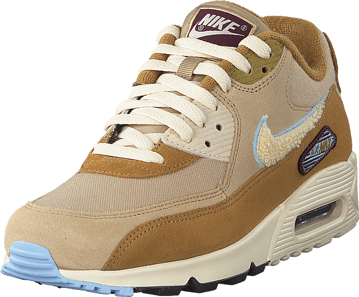 Nike - Air Max 90 Premium Muted Bronze/light Cream-royal