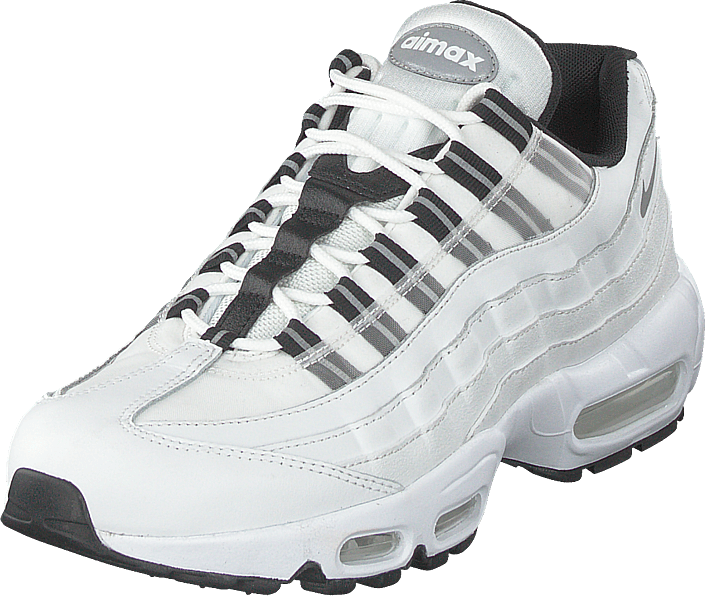 Buy Nike Wmns Nike Air Max 95 Og White black reflect Silver white ... a88002e3d